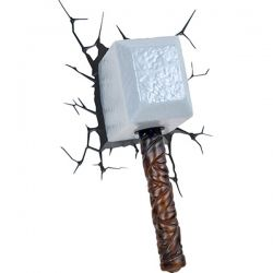 Lampada 3D Deco Wall Light - Martello di Thor