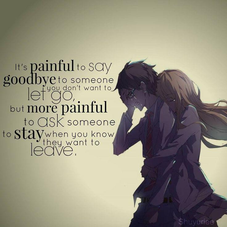 Girl Leaving Boy Quotes: Shigatsu Wa Kimi No Uso :') Tumblr MangaPanda