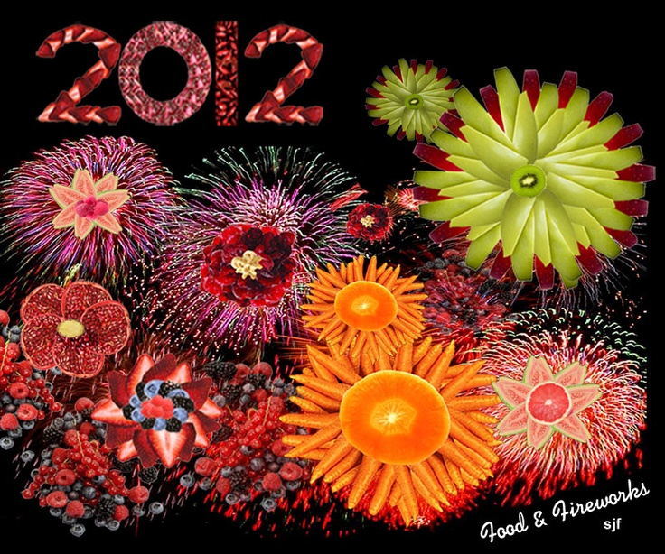 Edible Art: Food and Fireworks | Food Art
