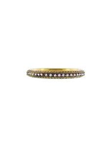 Tapered Diamond Band - 22 Karat Gold