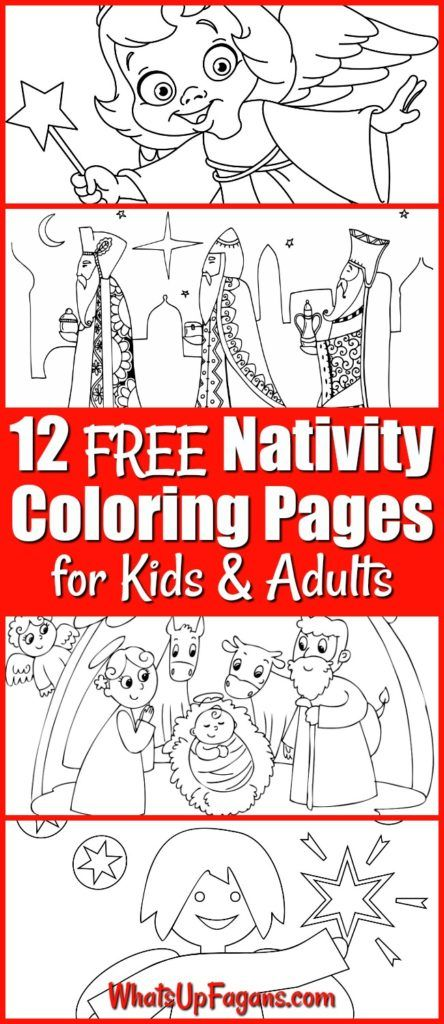 12 FREE Printable Nativity Coloring Pages for Kids   Home Furniture ...