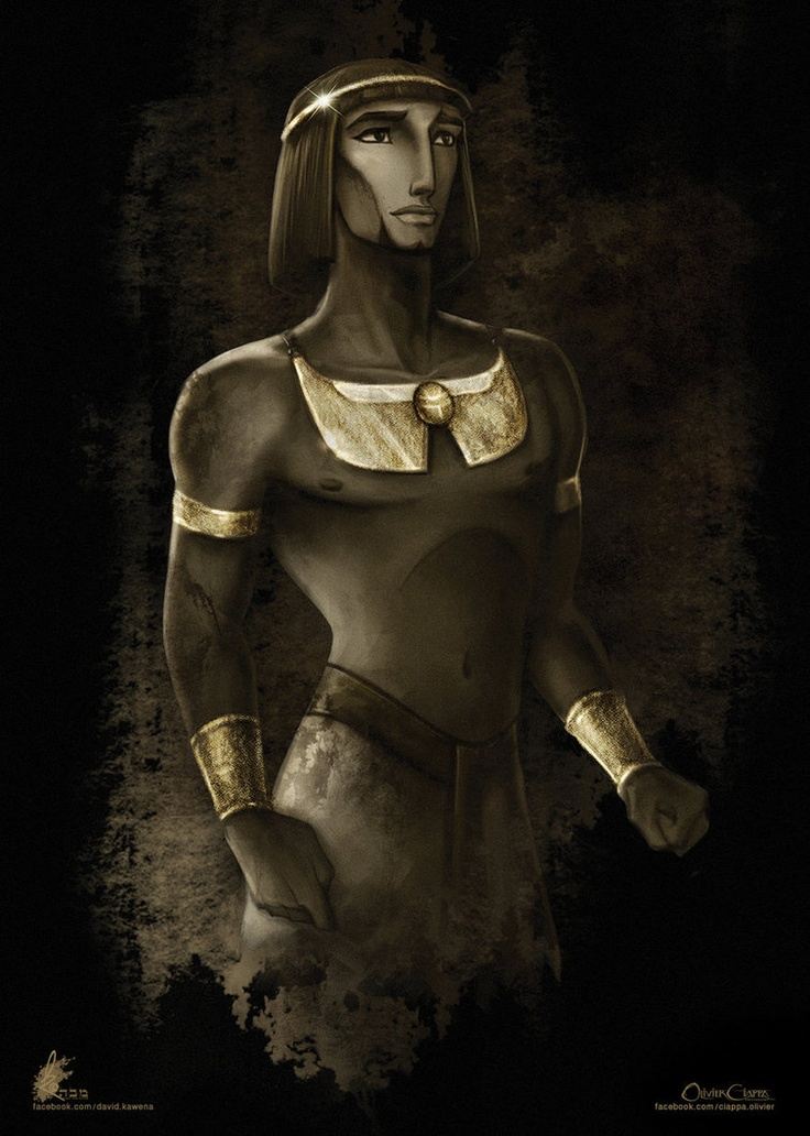 Moses - The Prince of Egypt by davidkawena