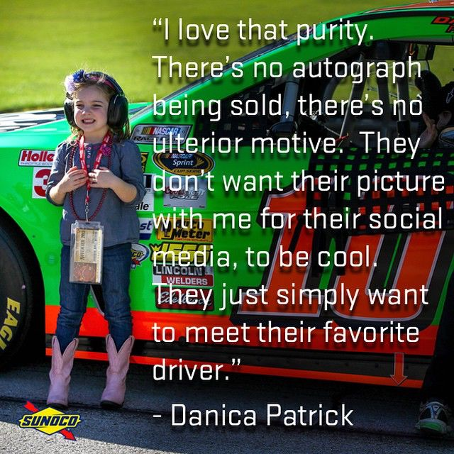 What fuels #DanicaPatrick? Meeting young #NASCAR fans! #WhatFuelsYou? #GoDaddy #Chevy #Racing #Cars