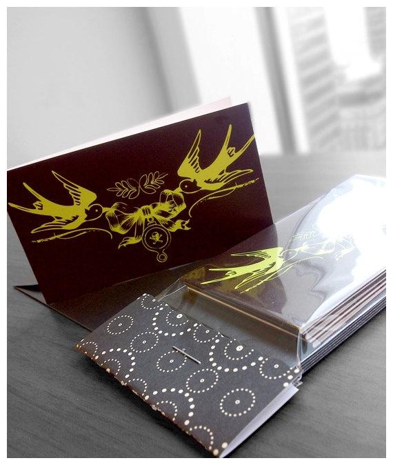 HOLIDAY SPARROW + SKULL MINI CARDS #Sparrows #Skulls
