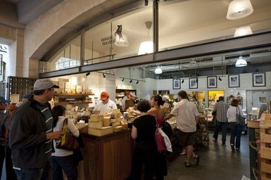 Cowgirl Creamery at the San Francisco Ferry Building Marketplace and Farmers Market