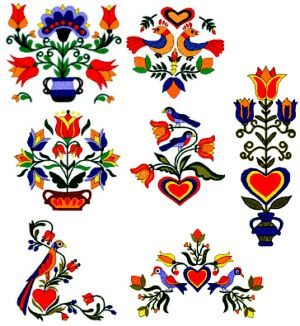 Bauernmalerei - German decorative painting