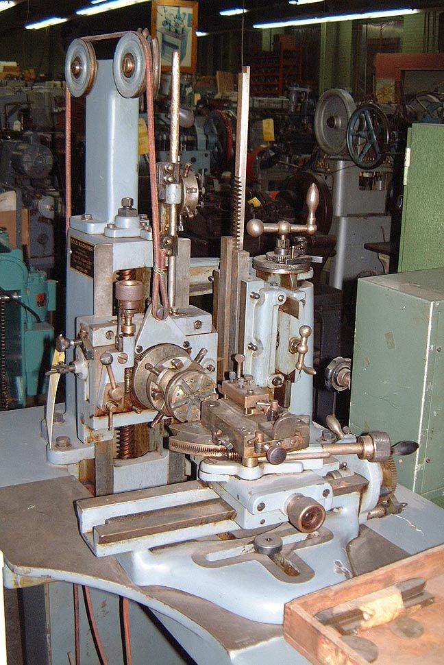 Here is a late model Lienhard Straight Line Guilloche Machine. jS