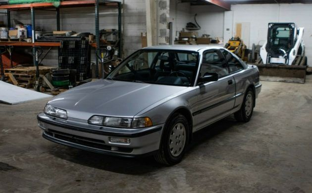 Little Old Lady Owned 1990 Acura Integra Rs In 2020 Acura Integra Acura Barn Finds