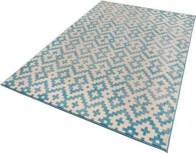 Teppich »Duo«, , rechteckig, Höhe 9 mm