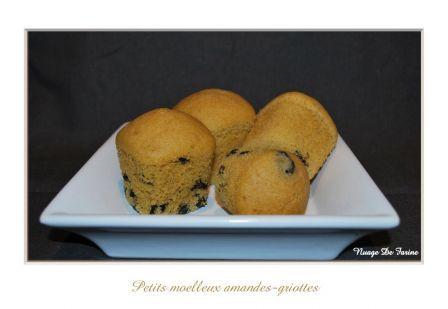 Petits moelleux amandes-griottes, janv. 2011