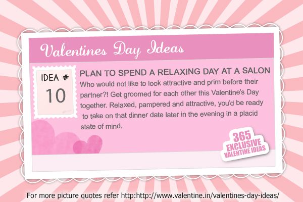 Valentines Day Ideas #10