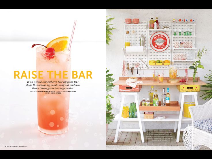 """Raise the Bar"" from Do-It-Yourself Magazine, Summer 2017. Read it on the Texture app-unlimited access to 200+ top magazines."