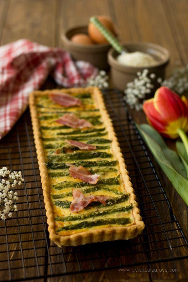Quiche agli asparagi e pancetta | Dolce Salsarosa | Bloglovin'