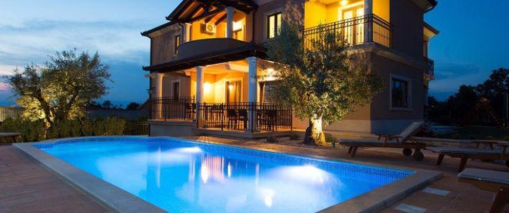 Villa Deklic: Ferienhaus mit Pool in Istrien, Kroatien