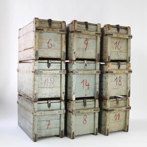 Wooden boxes food storage casa ideas pinterest for Re storage crate