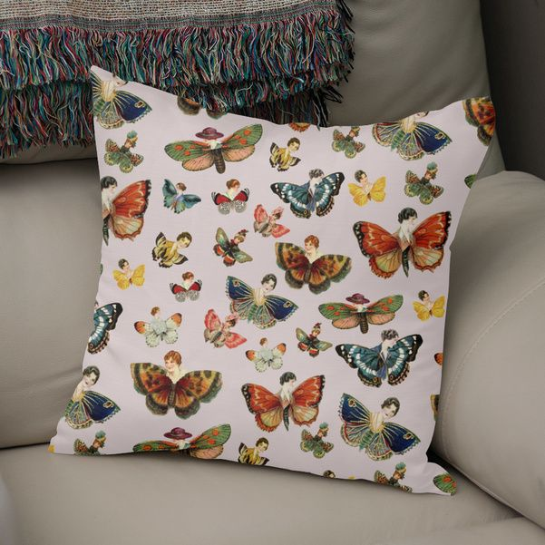 Discover «lady butterflies! pat.», Numbered Edition Throw Pillow by gasponce - From 25€ - Curioos
