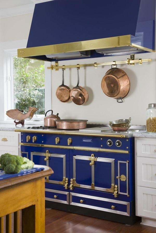 La Cornue, Founded in 1908, is known for its beautiful, made-to-order stoves. The French company offers stoves in 30 colors. Royal Blue is one of its most ...
