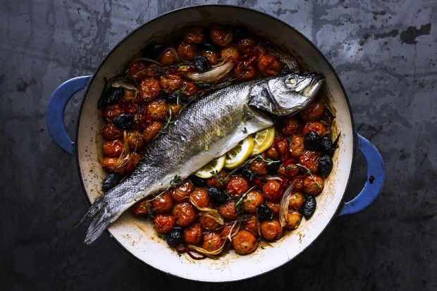 How to Make a Super Easy Oven-Roasted Fish Without a Recipe photo