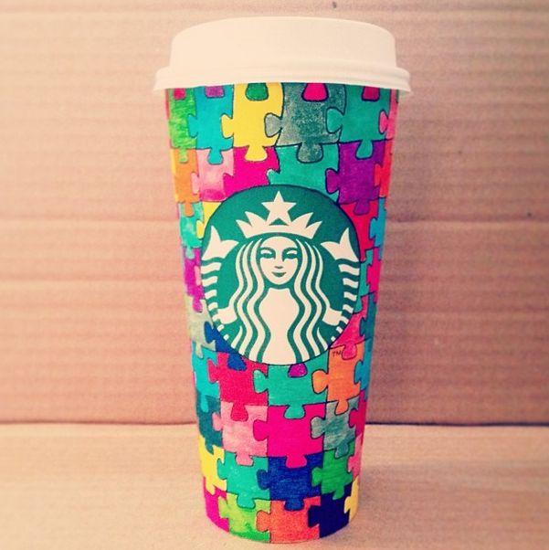 Starbucks Coffee Cup Drawing