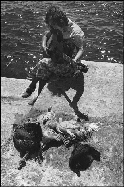 © David Seymour - Mykonos, 1951