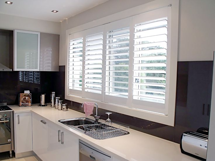 When You Shop Shutters For Your Kitchen, #Plantation #Shutter Is A Popular  Choice