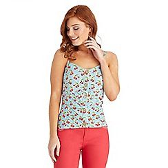 Joe Browns - Multi coloured sexy cherry vintage top