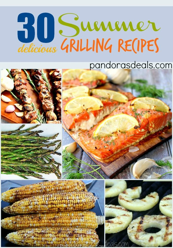 Summer Grilling Recipes. Main dishes, side dishes, fruit and more. Get grillin'! www.PandorasDeals.com