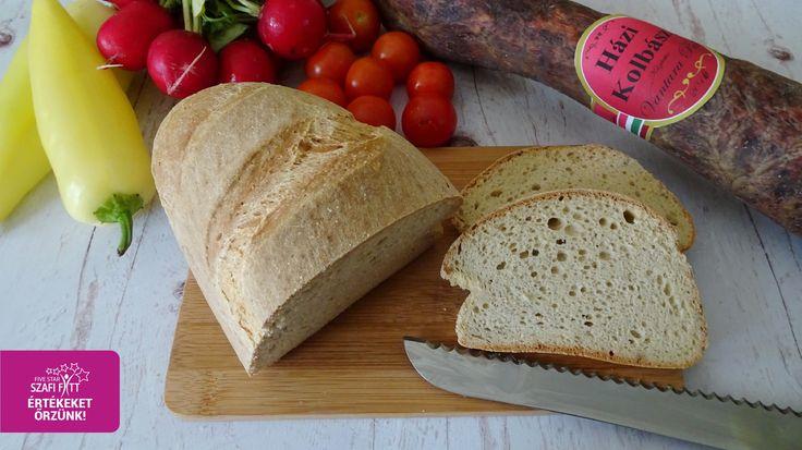 Szafi Fitt gluténmentes csökkentett szénhidráttartalmú PALEO kenyér (tejmentes, élesztőmentes, szójamentes, kukoricamentes)
