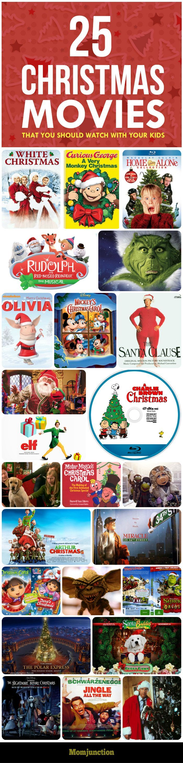 Top 25 #Christmas Themed Movies That You Should Watch With Your Kids: If you are on the lookout for some good recommendations about best Christmas movies for kids, keep reading.