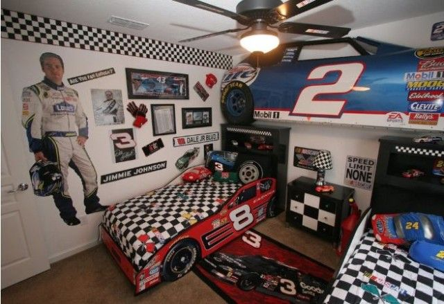 cool nascar rooms - Google Search