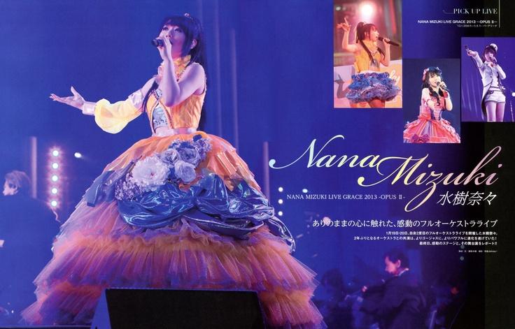 Mizuki Nana in Live Opus