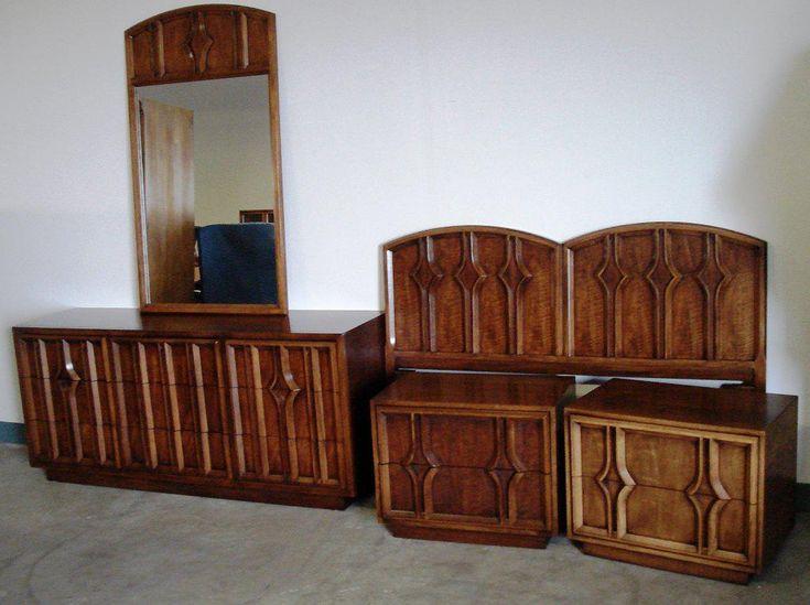 Vintage Mid Century Modern Schlafzimmer Möbel Modernes