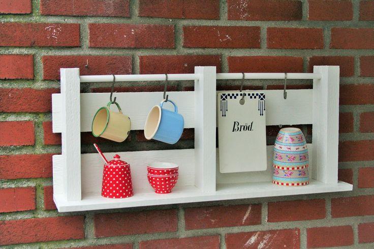 Kitchen shelf.