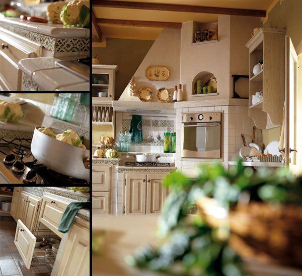 Arredamento cucine sullo stile Toscano