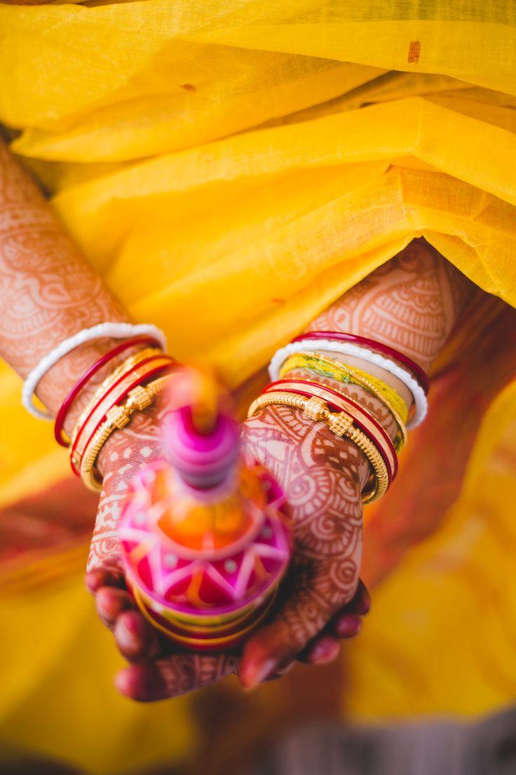 Wedding bangles #Bengali #wedding #rituals