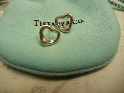 Brinco Tiffany & Co. Open Heart - Elsa Peretti