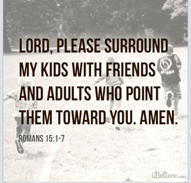 Raising Godly children!