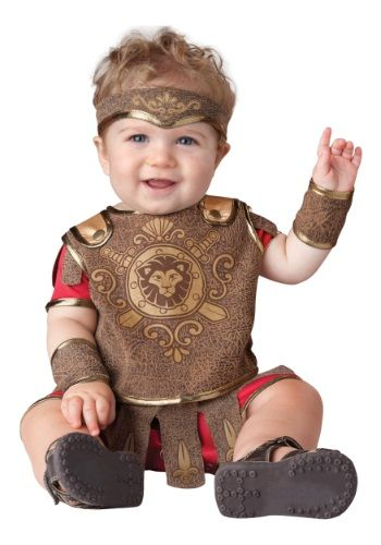 Get ready for the baby romp at the Colisuem with this Infant Gladiator Costume! None of the other little warriors will stand a chance!