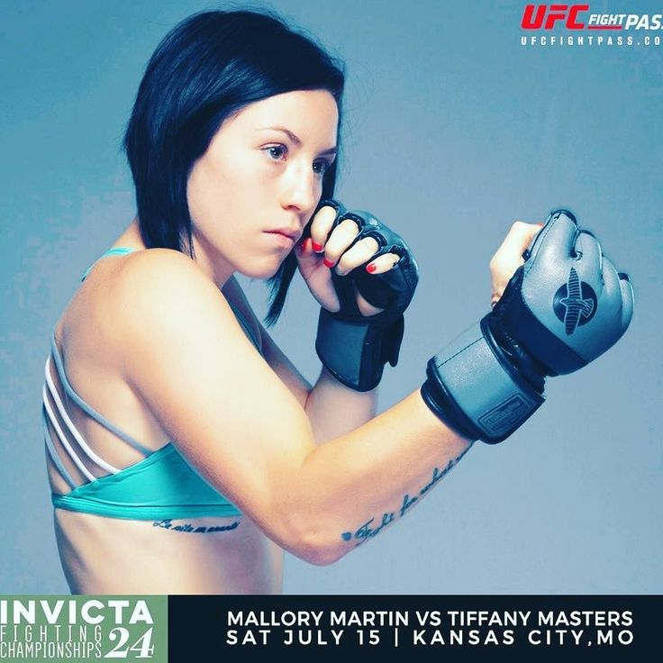 Check out this upcoming #fight scheduled for #InvictaFC24. #MalloryMartin @mel_brookee is taking on #TiffanyMasters  two great young #fighters with loads of potential. Who's your favorite to win?  Don't miss this and all the fights on the card at Invicta FC 24 Saturday 7/15 at 8pm ET on UFC Fight Pass.  For the latest #MMA news make sure to follow me: http://ift.tt/1FVexze  http://ift.tt/2u6BTqc http://ift.tt/2v5ztp8  #Invicta #InvictaFC #WMMA #mixedmartialarts #DudievavsBorella…