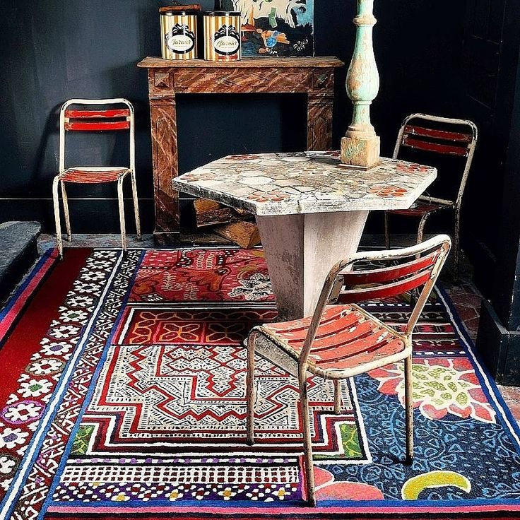 15 best tapis images on pinterest - Tapis florence bourel ...