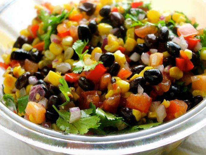Receta: Ensalada de frijoles negros