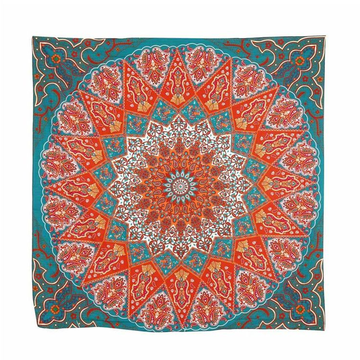 Shocking Show Beach Cover Up Hippie Psychedelic Tapestry Mandala Bedspread Decor Yoga Mat