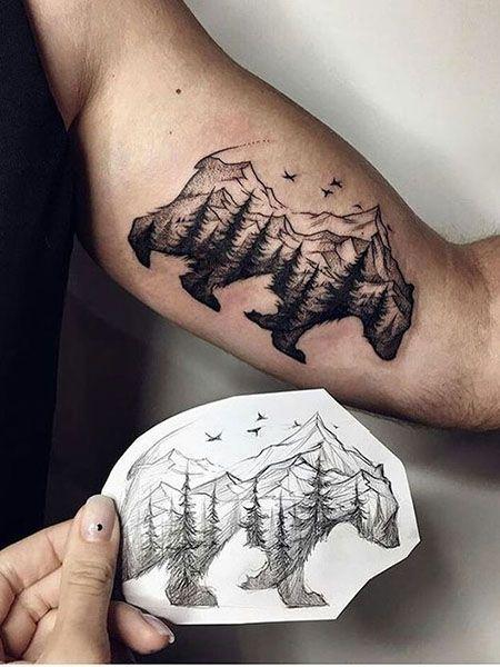 55 Best Arm Tattoo Ideas For Men - Animal Bicep Tattoos - # . - 55 Best Arm Tattoo Ideas For Men – Animal Bicep Tattoos – - Tattoos Arm Mann, Arm Tattoos For Guys, Trendy Tattoos, Bicep Tattoos, Tattoo Forearm, Best Arm Tattoos, Arm Tattoo Ideas, Tattoo For Man, Arm Tattos