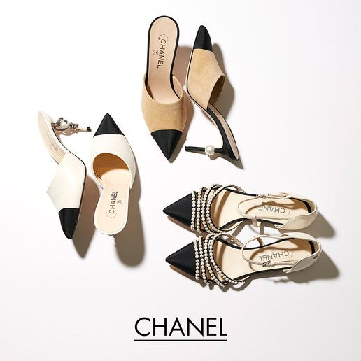 「シャネル(Chanel)」のバイカラーシューズ
