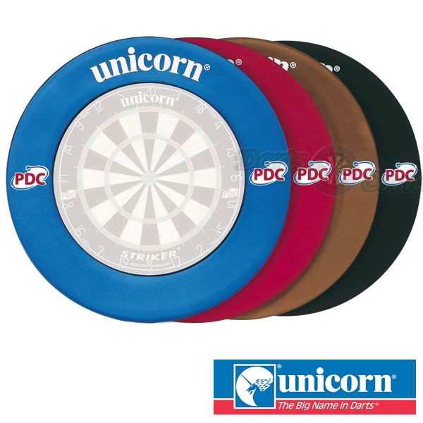 Dartboard Surround - Unicorn - Striker Lightweight EVA Dartboard Surround - Blue - http://www.dartscorner.co.uk/product_info.php?cPath=491&products_id=4613