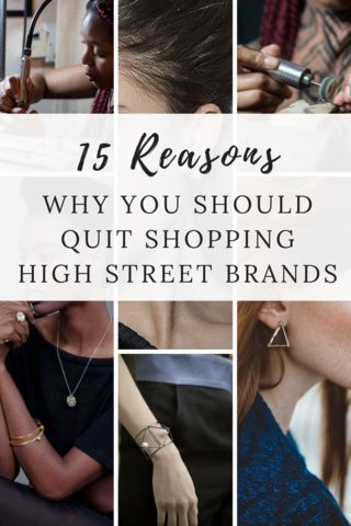 Why you should shop independent Jewellers rather than high street brands.