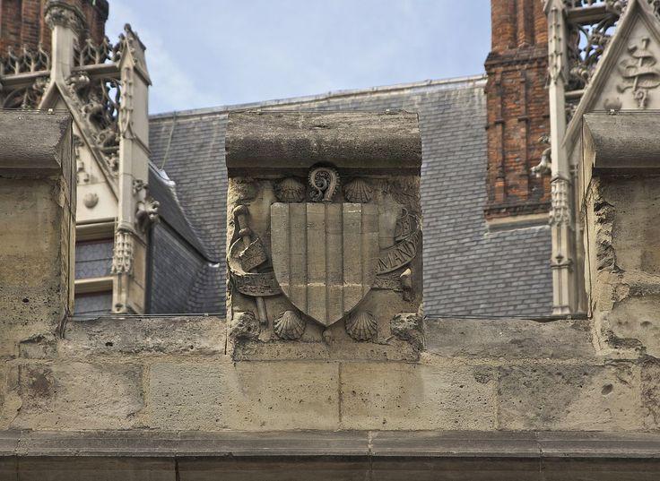 Armoiries Jacques d'Amboise Hôtel Cluny Paris - Hôtel de Cluny — Wikipédia