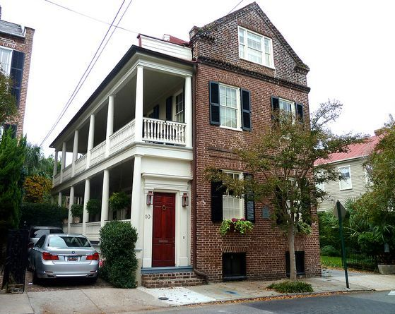 Best 25 charleston style ideas on pinterest great for Charleston style house plans side porch