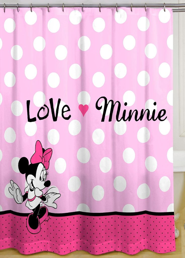 Find This Pin And More On Caliu0027s Playroom. Disney Minnie Mouse Bath  Accessories ...
