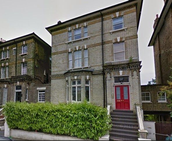 137 King Henry Road, Hampstead. Home of South African soprano, Garda Hall - 1930 to 1968.